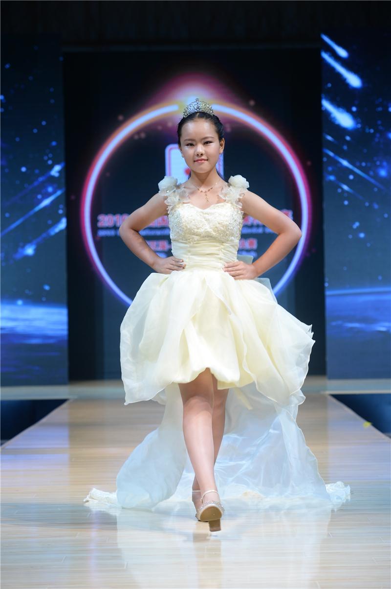楊青瑜——2016中國國際超級少兒模特大賽——少兒組金獎