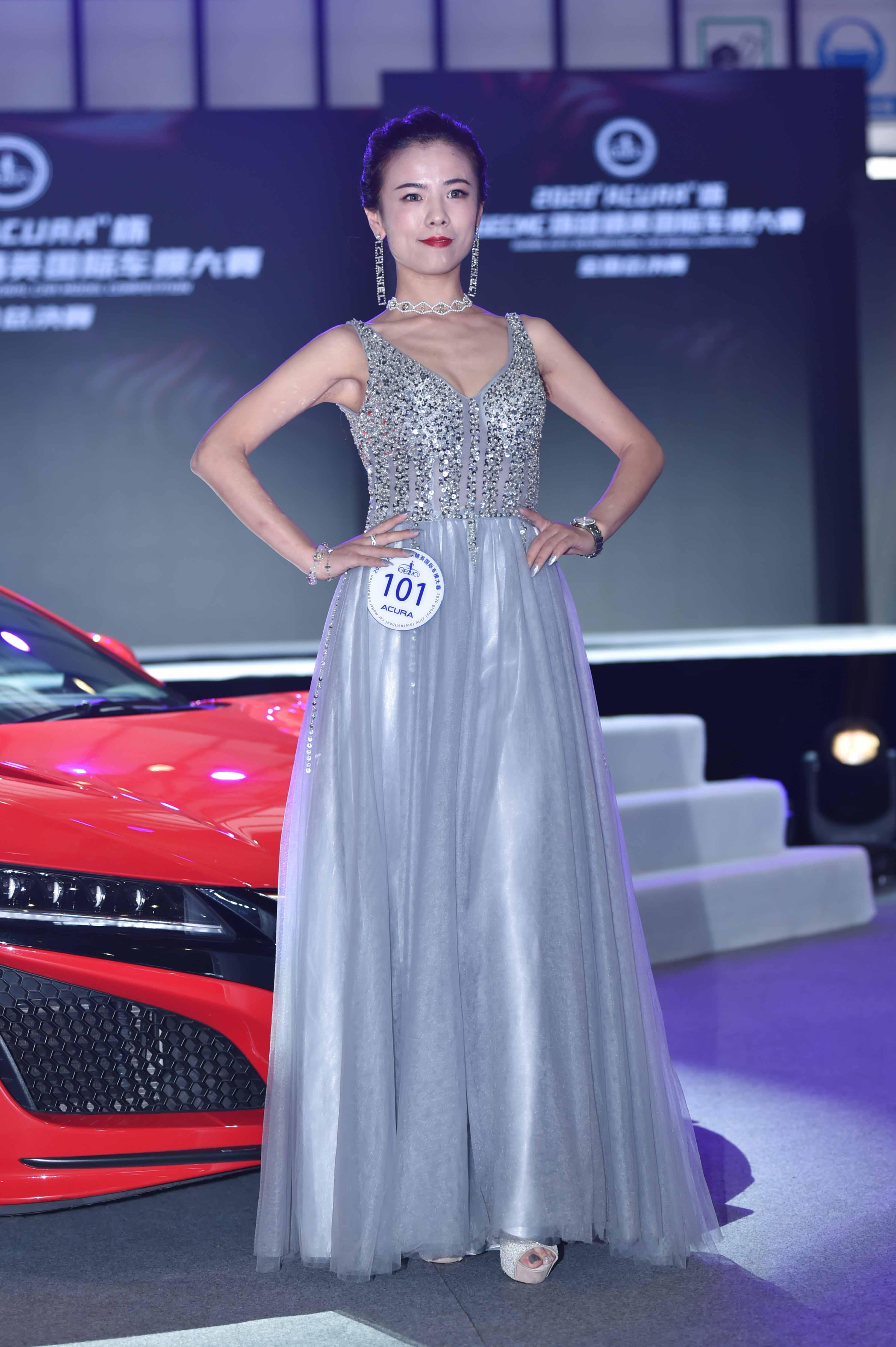 祝贺李昱娇——获得2020环球精英国际车模大赛全国总决赛季军