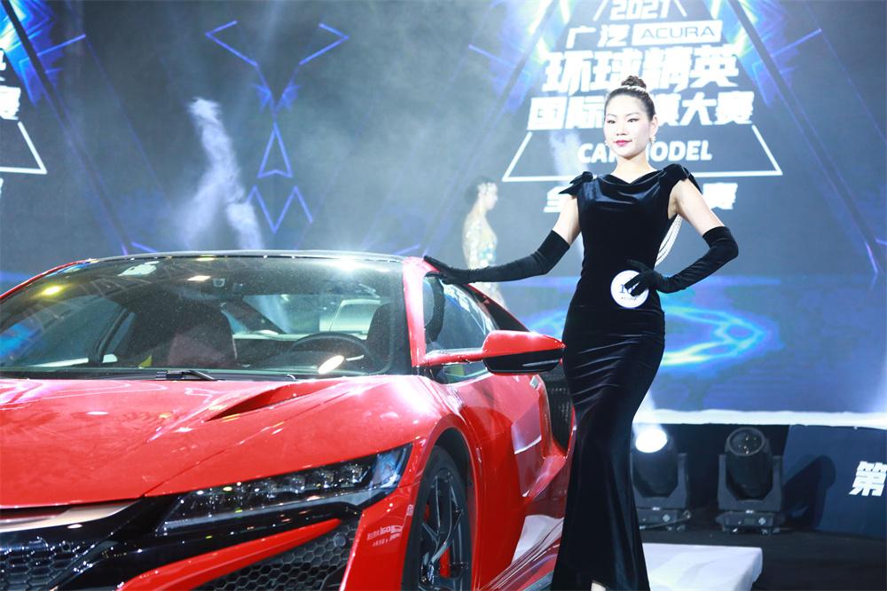 祝贺 王惠子——获得2020环球精英国际车模大赛全国总决赛亚军