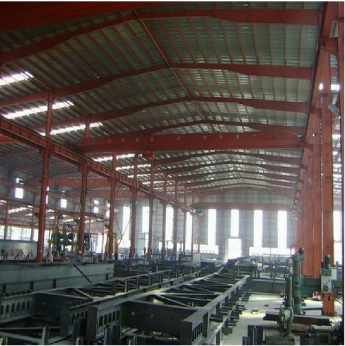 Long Span Steel Structure Workshop