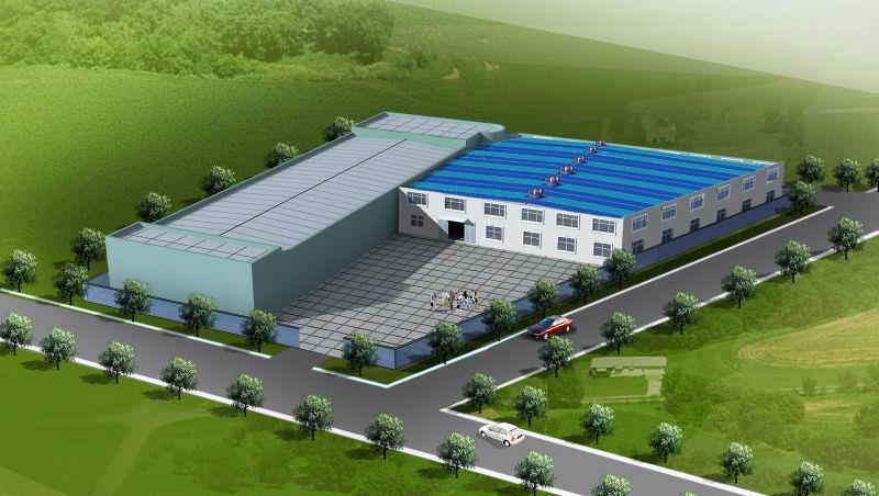 Structural Steel Workshop Building-04