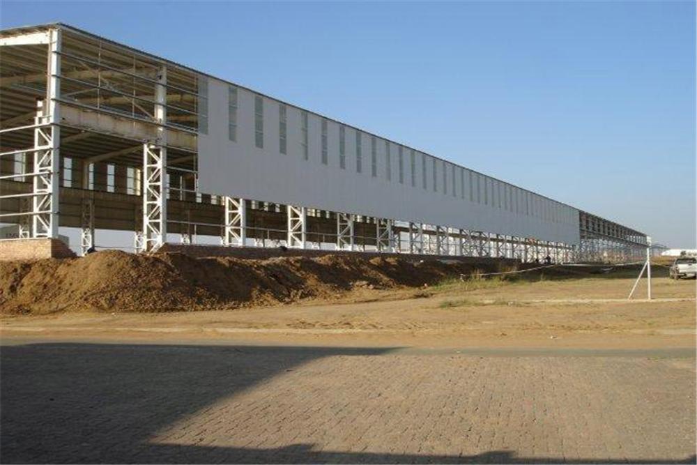 Pre-engineered Steel Structure Workshop-05