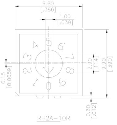 RH/RV/RM尺寸