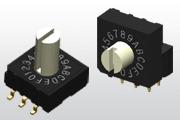 旋转拨码开关  10x10mm  RH/RV/RM/RS系列