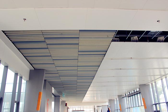 医院室内吊顶|异形天花吊顶|上海奇颉幕墙材料有限公司