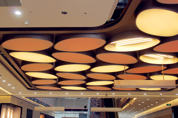 弧形造型铝天花厂家