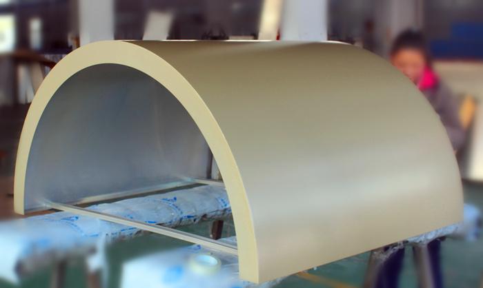 包柱铝单板厂家|弧形铝单板价格|包住铝板价格|上海奇颉