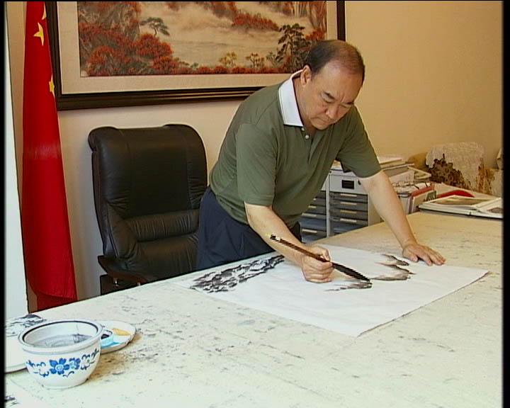 云南红河书画院长陈永华