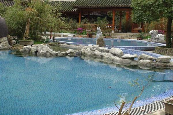 白馬峪溫泉為開陽縣旅游提檔升級