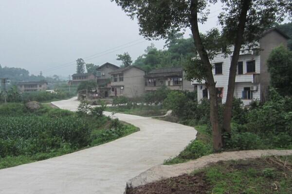 记重庆市沙坪坝区胡南坝村特色产业发展