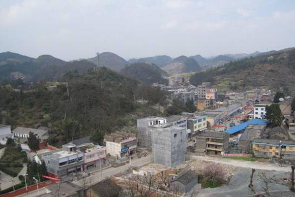 黔西南州雨樟镇小城镇建设纪实