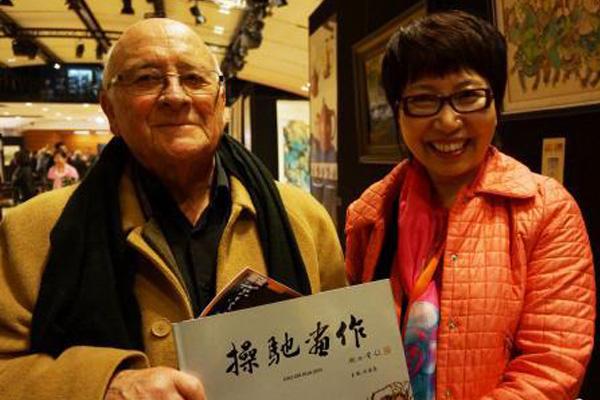 中国当代神奇的瓷板画家操驰