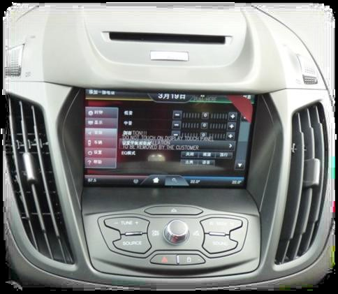2013款福特翼虎接口盒