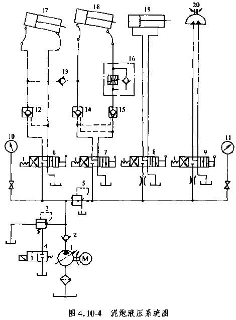 油泵电路图四根线