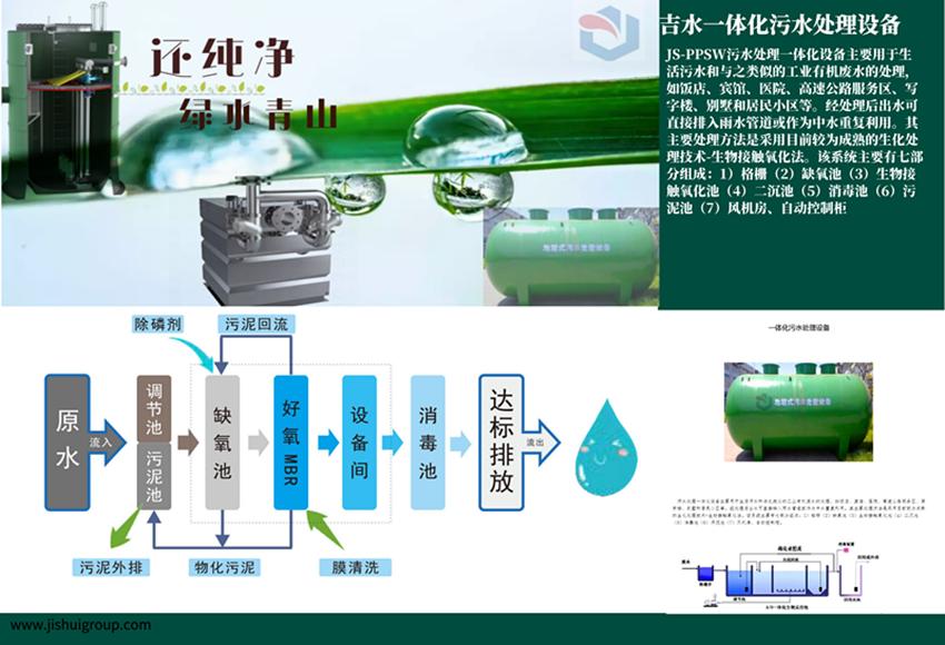 2000方生活污水净化处理系统方案