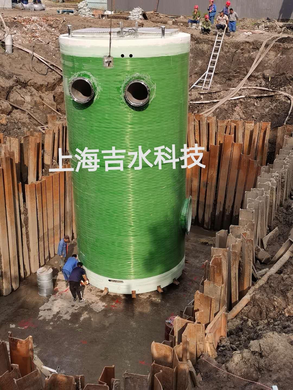 地埋式一体化污水泵站