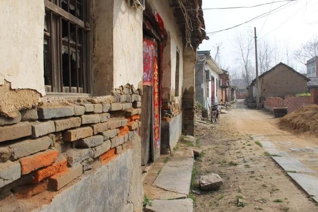淮滨的一条老街留下百年历史痕迹