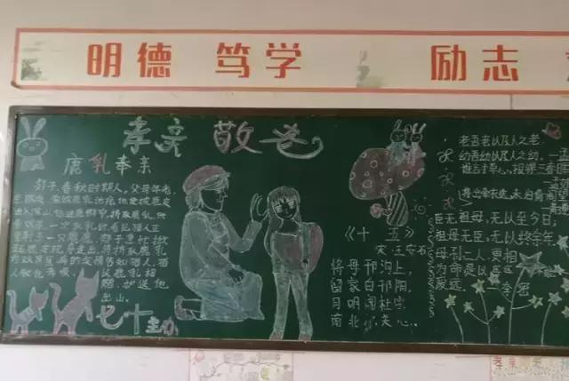 """淮滨二中举行""""感恩 奋进""""主题手抄报比赛"""