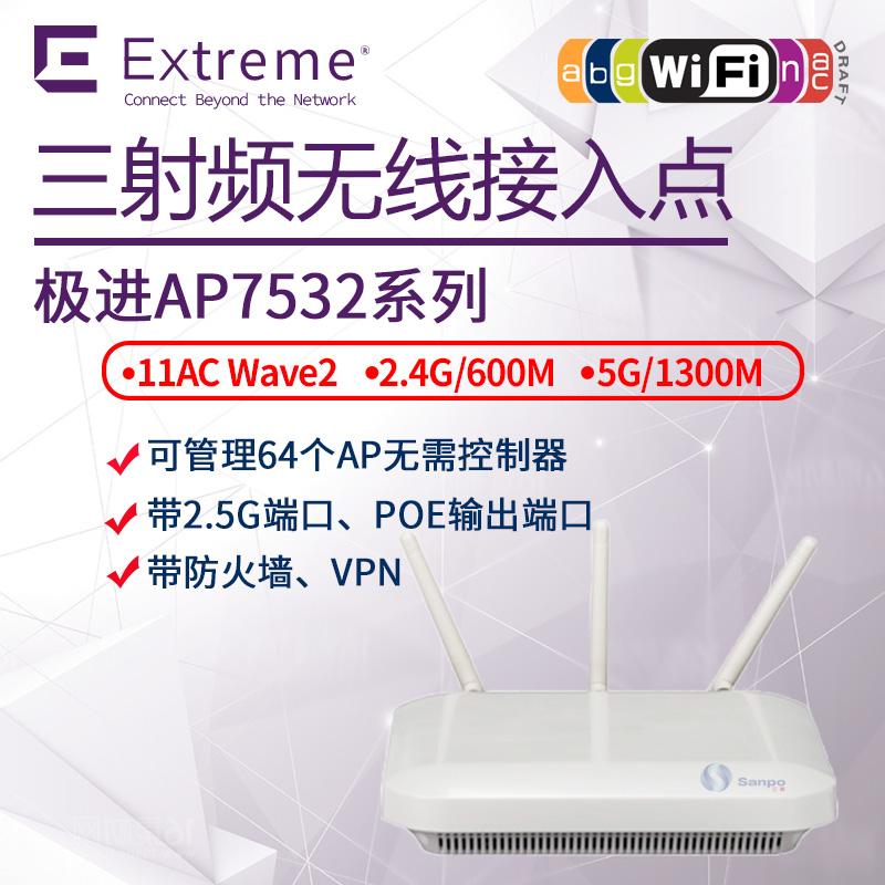 美国极进Symbl Extreme 室内无线AP7532