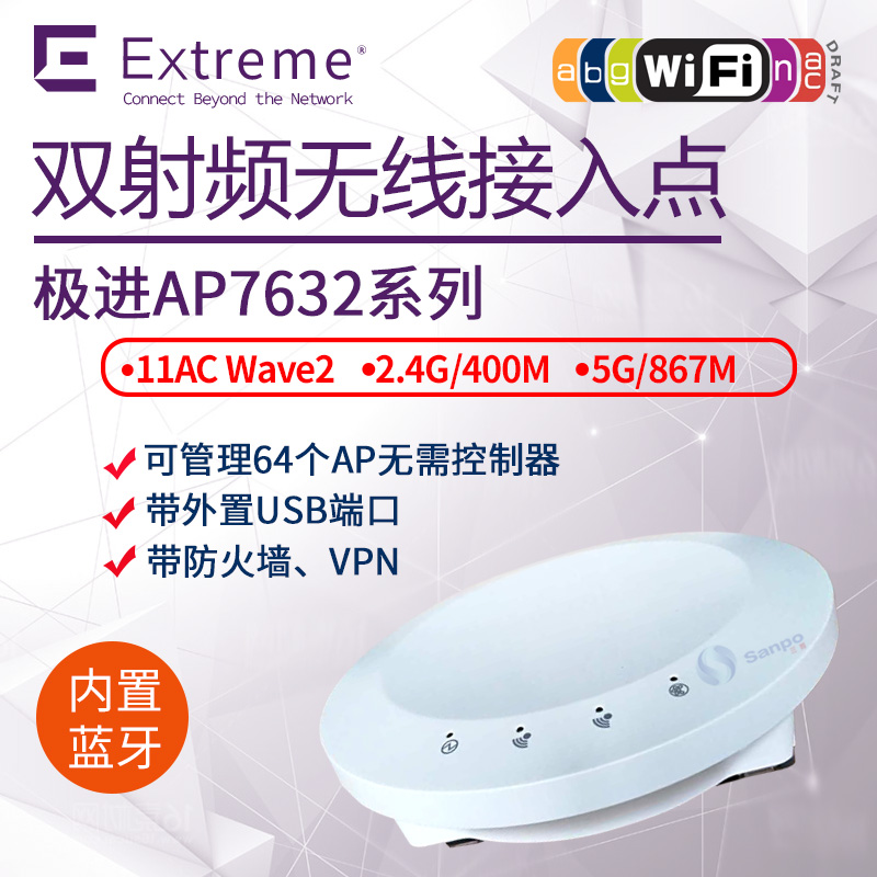 美国极进Symbol Extreme 室内无线 AP7632