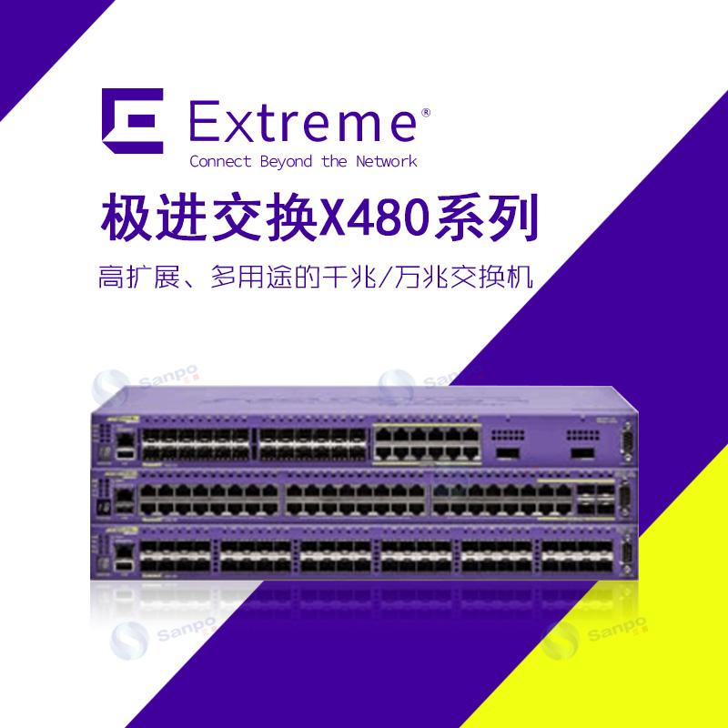 Extreme极进 Summit X480全千兆交换机系列