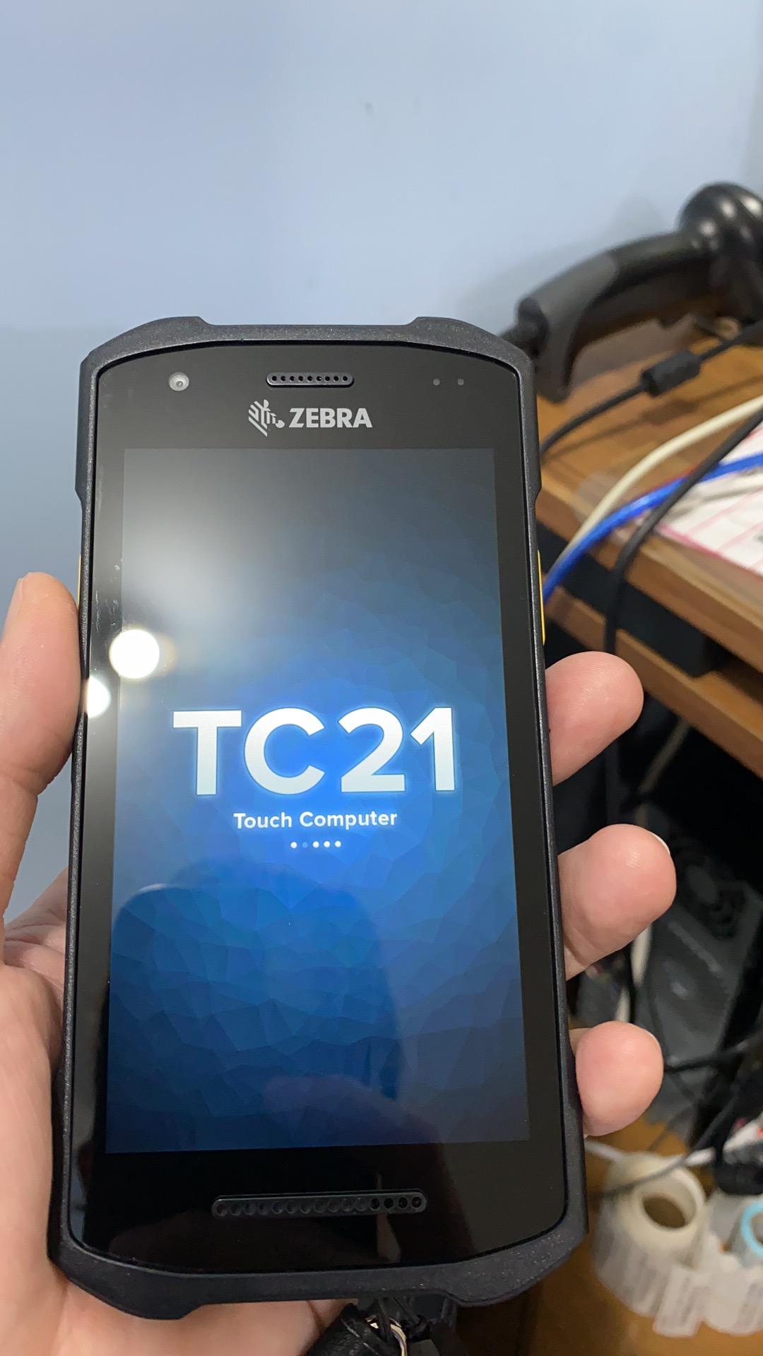 斑马TC21 TC26 数据采集器二维条码盘点机手持终端PDA安卓系统4G