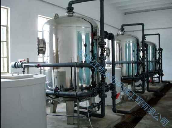 大型软化水质设备·