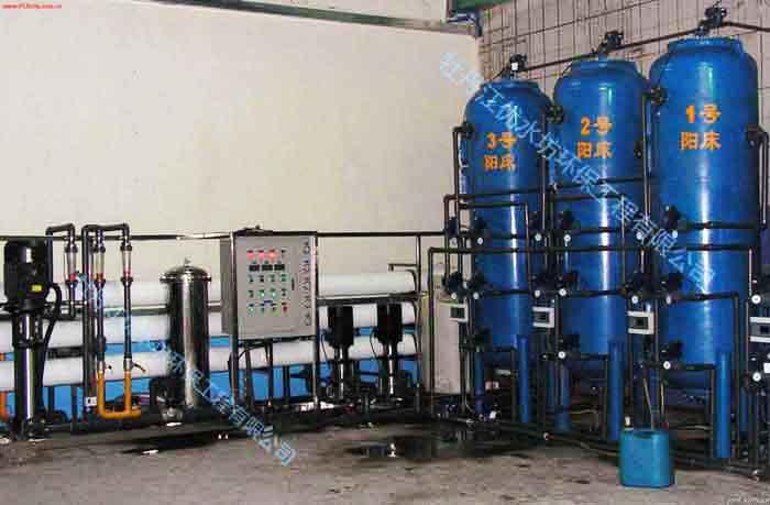 反渗透+混床超纯水设备