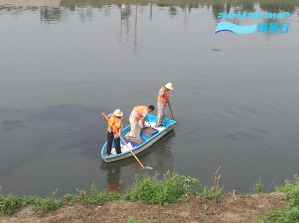 北京凉水河亦庄鹿圈桥段黑臭河道应急治理工程