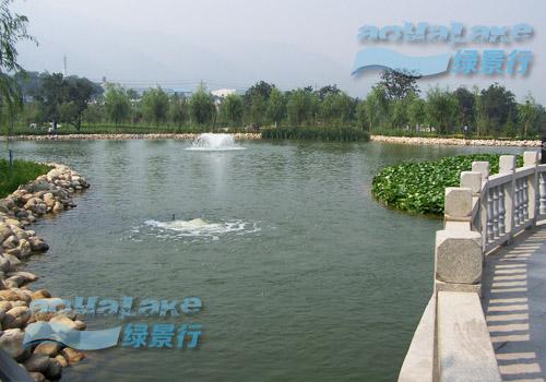 陕鼓动力集团中水公园生态治理工程