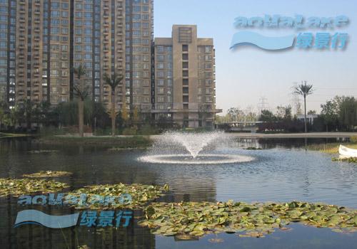 世茂奥临花园人工湖生态建设工程