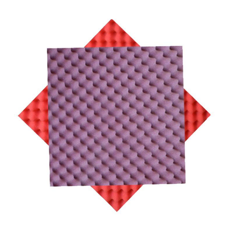 金字塔吸音棉阻燃白色环保异形隔音海绵高密度消音自贴厂家直销