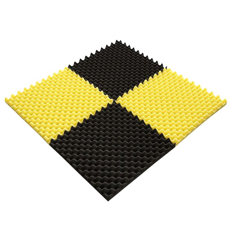 消音海绵 金字塔吸音海绵ktv阻燃高密度异形棉加工定制厂家