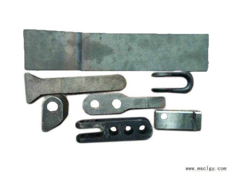 连接板、止挡铁、支架垫板、链蹄环