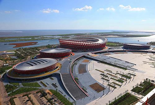 辽宁盘锦市体育中心