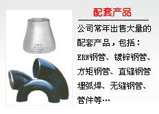 螺旋钢管配套产品