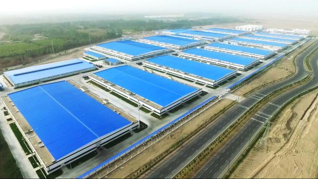 新疆富丽震纶一期工程全面竣工投产