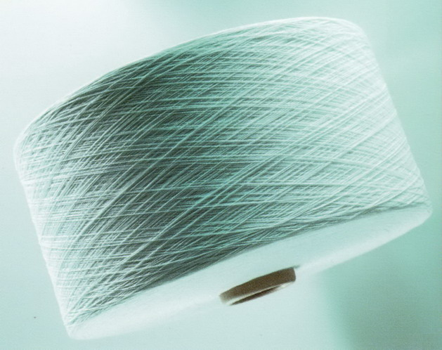 气流纺竹节纱