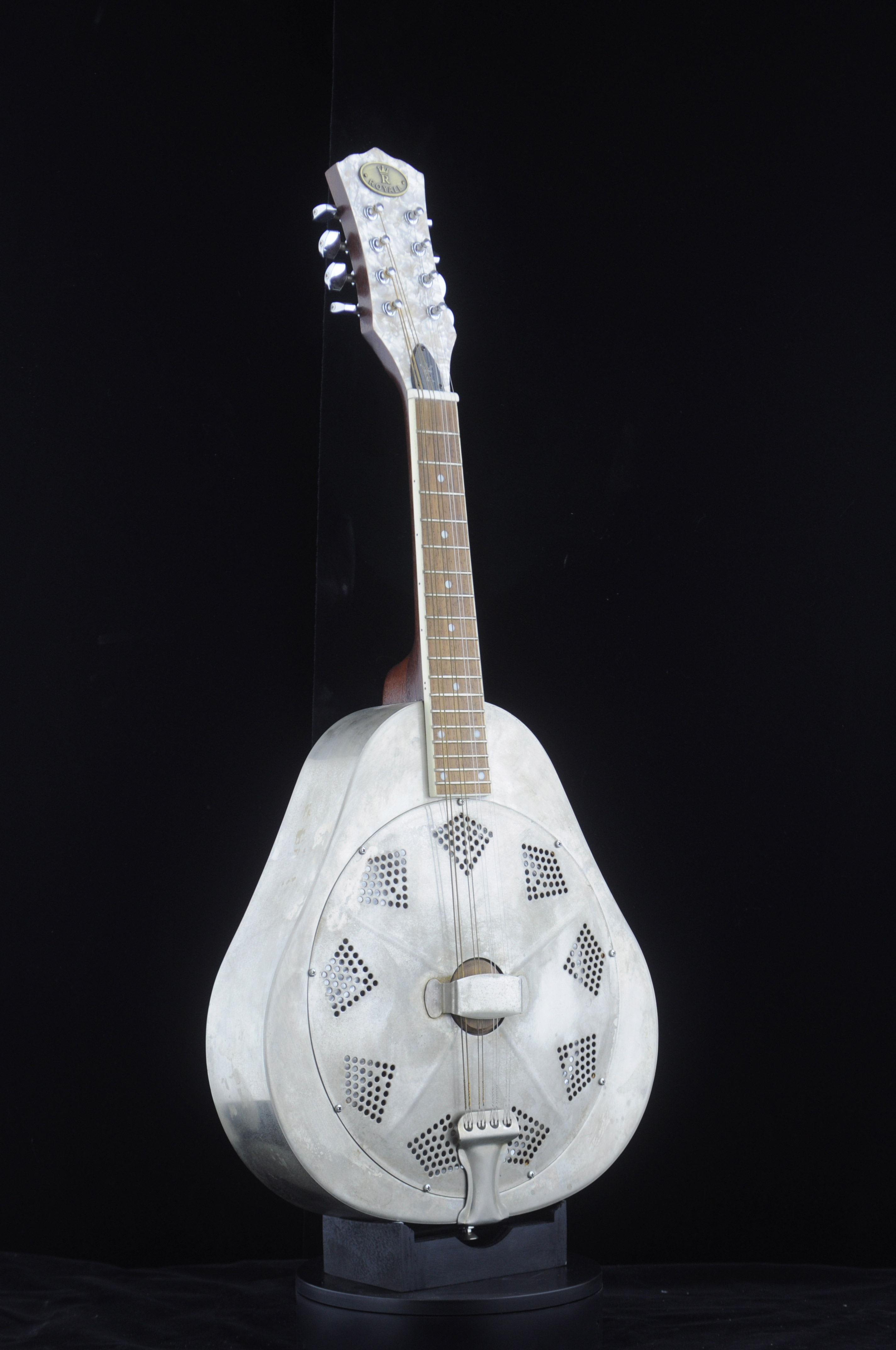 Mandolin Tenor 4-Strings 手工仿旧
