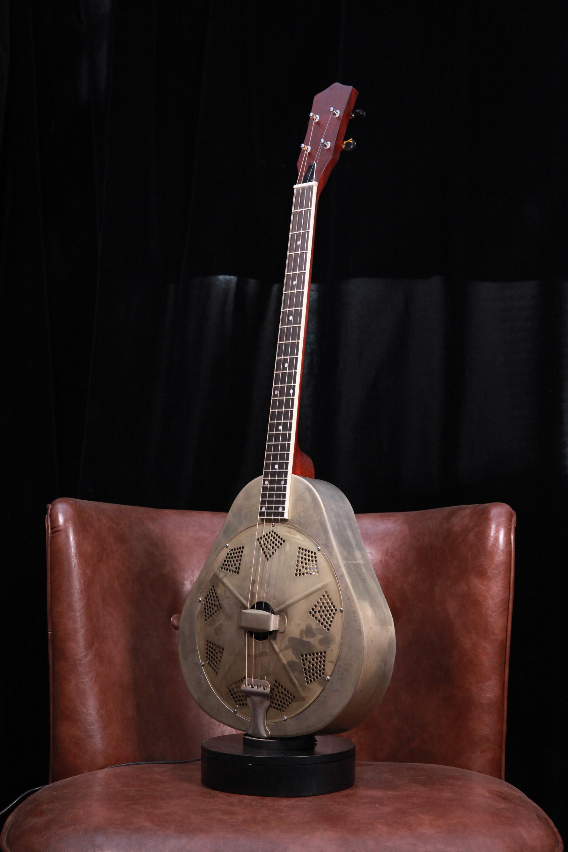 Mandolin Antique 手工仿旧