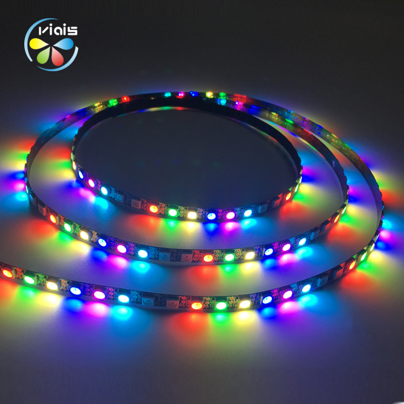 3 Key Control 100 Pixels Per Meter DC5V Programmable 5050 RGB Led Digital Strip
