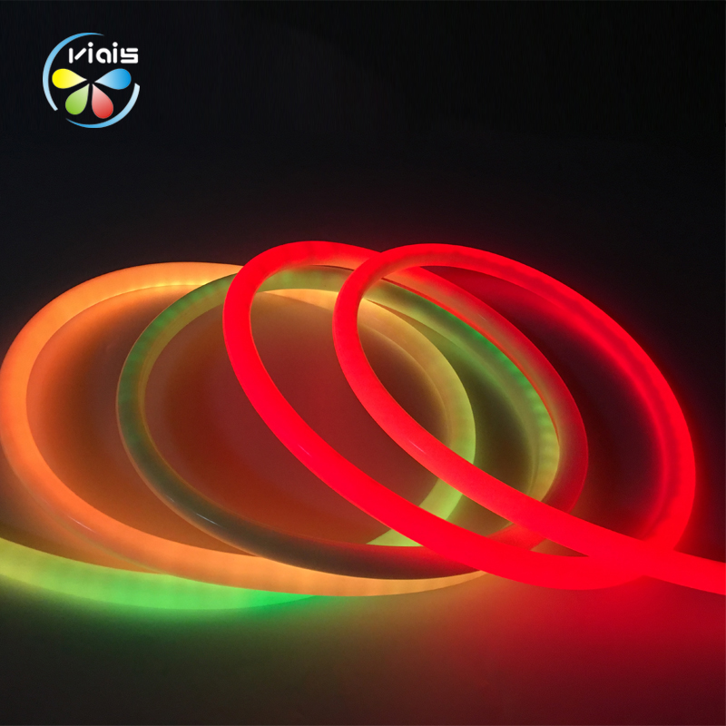 IP68 Silicone RGB Full Color Round LED Neon Flex