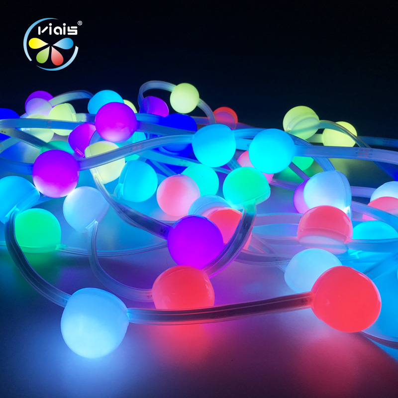 Holiday Decorative Lighting DC12V 10Meter Colorful RGB 5050 Pixel Point Led Strip Light