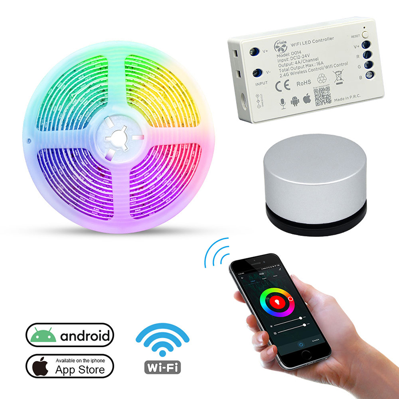 Wifi Led Controller with 5050 RGB Led Strip