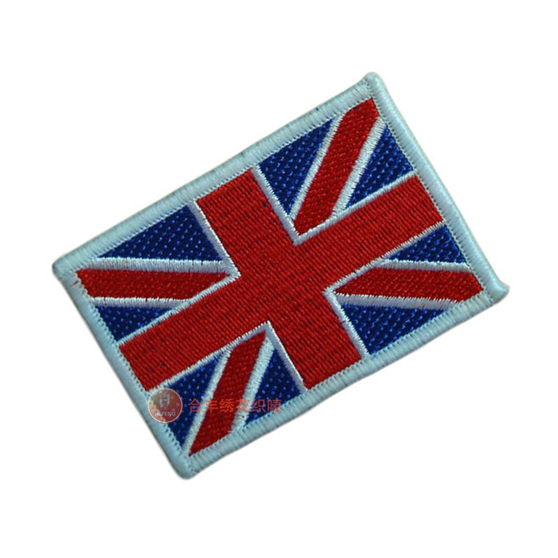 各类国旗绣花章、刺绣章