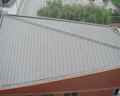 aluV立边咬合铝镁锰、铝镁硅屋面墙面系统