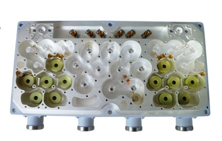 2.6GHz 2T4R Dual Duplexer Module, Dielectric Resonator Load