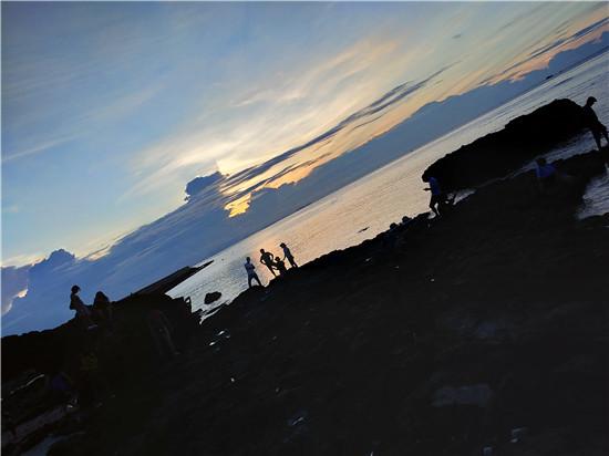 李山岛日落