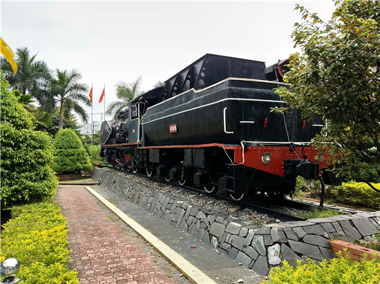 岘港火车站景观