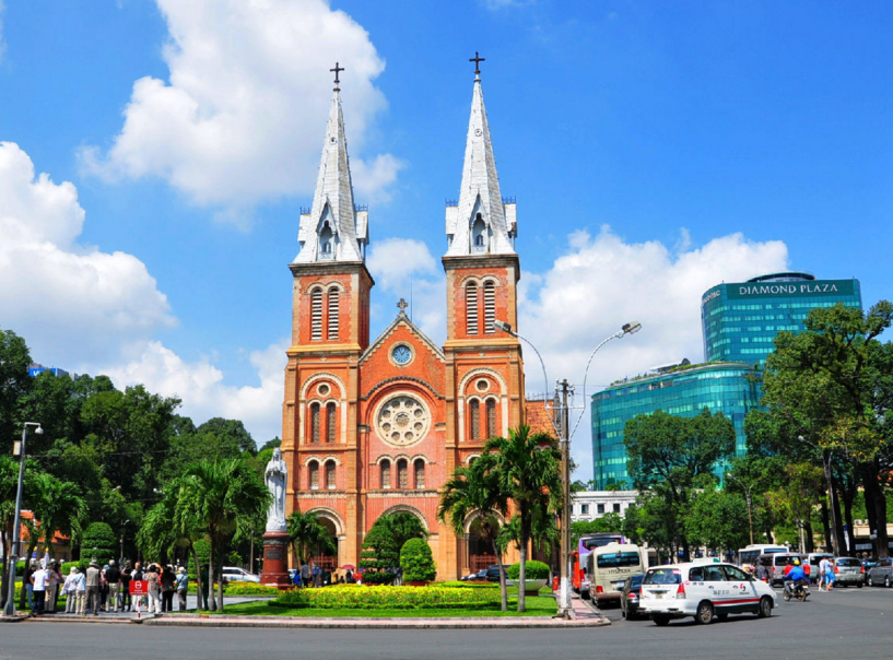 胡志明市街景